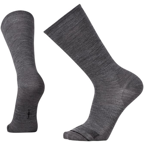 Men's Anchor Line Socks in Medium Gray/Black