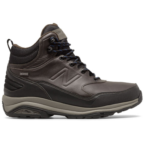 New Balance Men's 1400 Waterproof Boot in Dark Brown at Mar-Lou Shoes