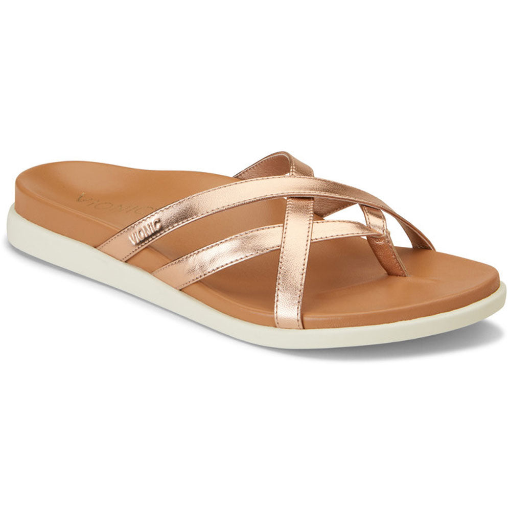Daisy Sandal in Rose Gold