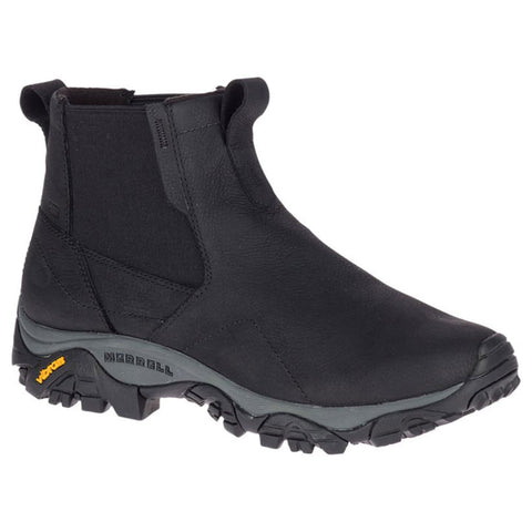 Men's Moab Adventure Chelsea in Black Waterproof Leather