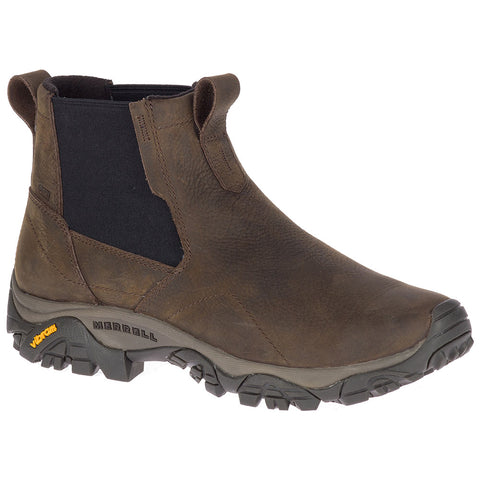 Men's Moab Adventure Chelsea in Brown Waterproof Leather