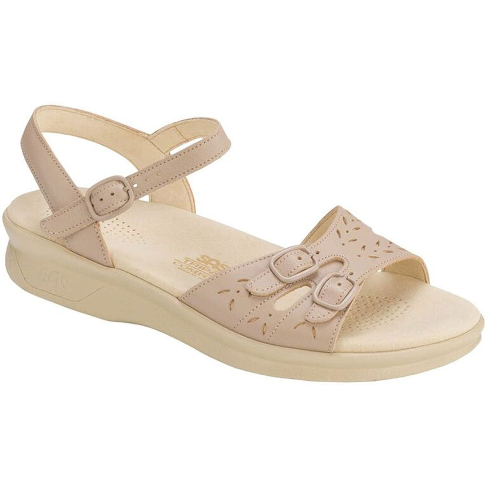 SAS Duo Sandal in Natural Leather at Mar-Lou Shoes