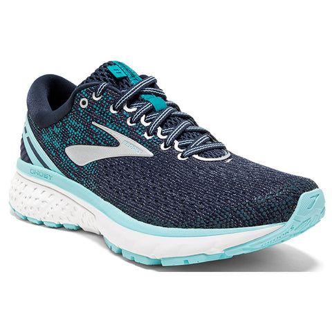 Ghost 11 Women's Running Shoes in Navy/Gray/Blue