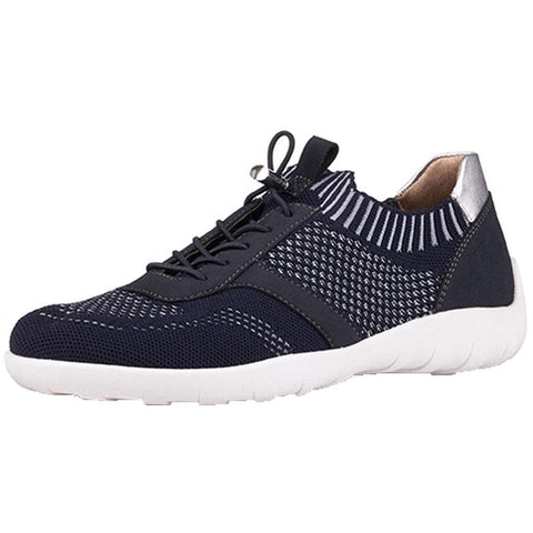 Remonte R3511 in Navy/Silver at Mar-Lou Shoes