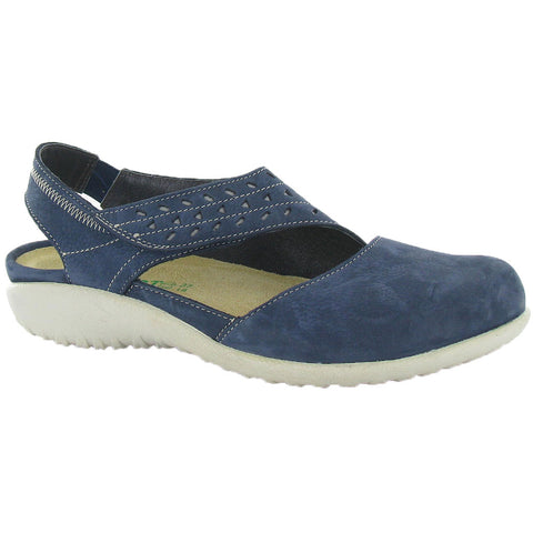 Nato Kapua Sandal in Navy Nubuck at Mar-Lou Shoes