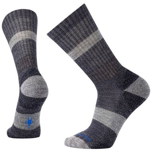 Men's Barnsley Crew Socks in Deep Navy Heather
