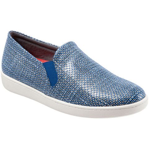 Americana Slip On in Navy/White