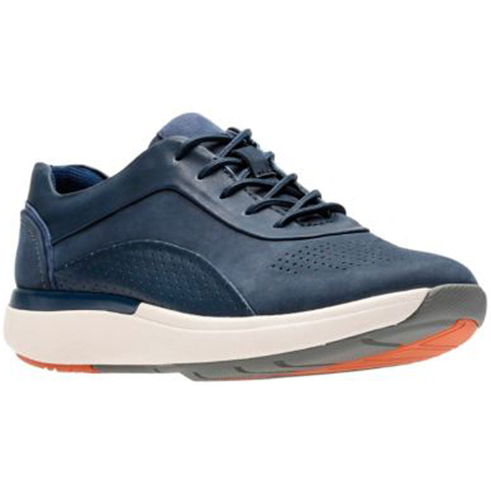 Un Cruise Lace in Navy Combi Nubuck