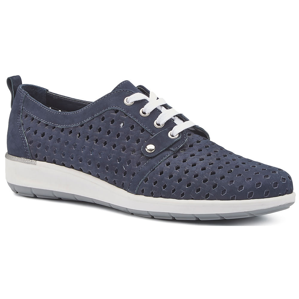 Oasis in Navy Nubuck
