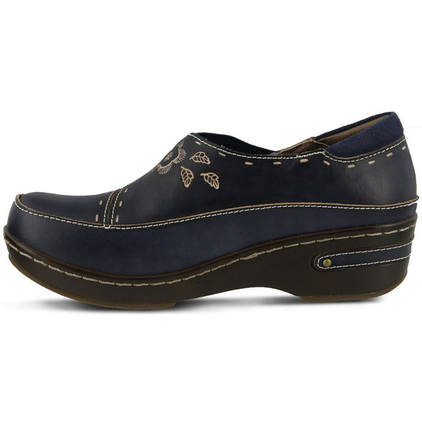 Burbank in Navy Leather