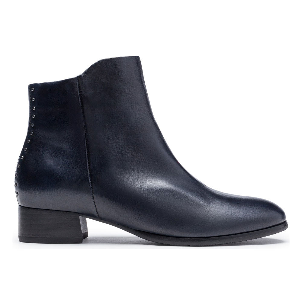 Regarde Cristion 06 in Navy Leather Boot at Mar-Lou Shoes