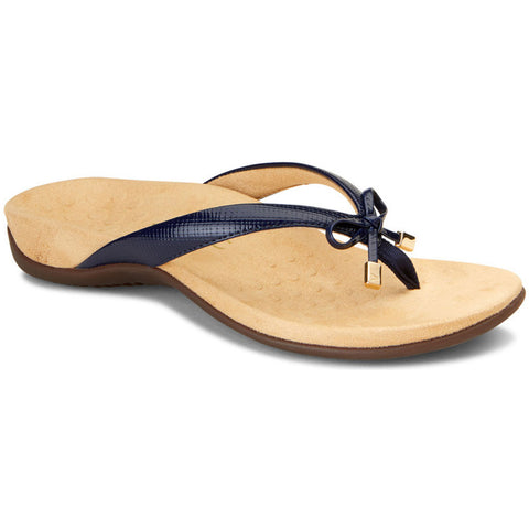 Bella II Sandal in Navy Lizard