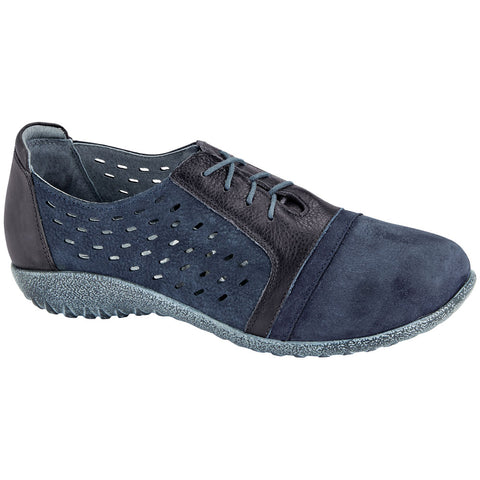 Naot Lalo in Navy Nubuck at Mar-Lou Shoes