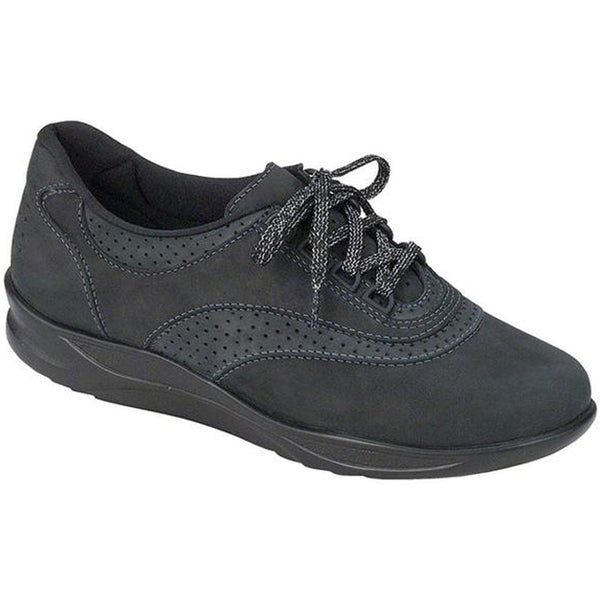 Walk Easy in Nero/Charcoal Nubuck