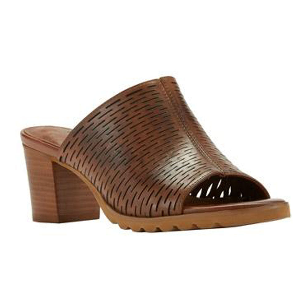Nia Sandal in Luggage Leather