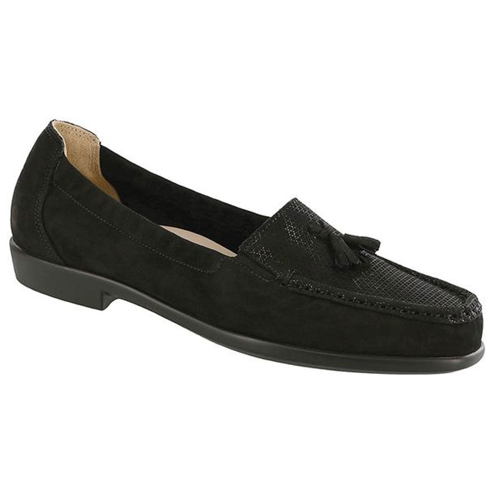 SAS Hope Loafer in Onyx at Mar-Lou Shoes