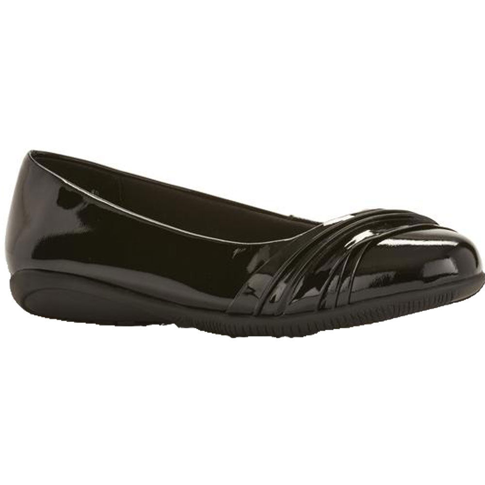 Flick in Black Patent Leather