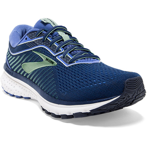 Brooks Women's Ghost 12 in Peacoat/Blue at Mar-Lou Shoes