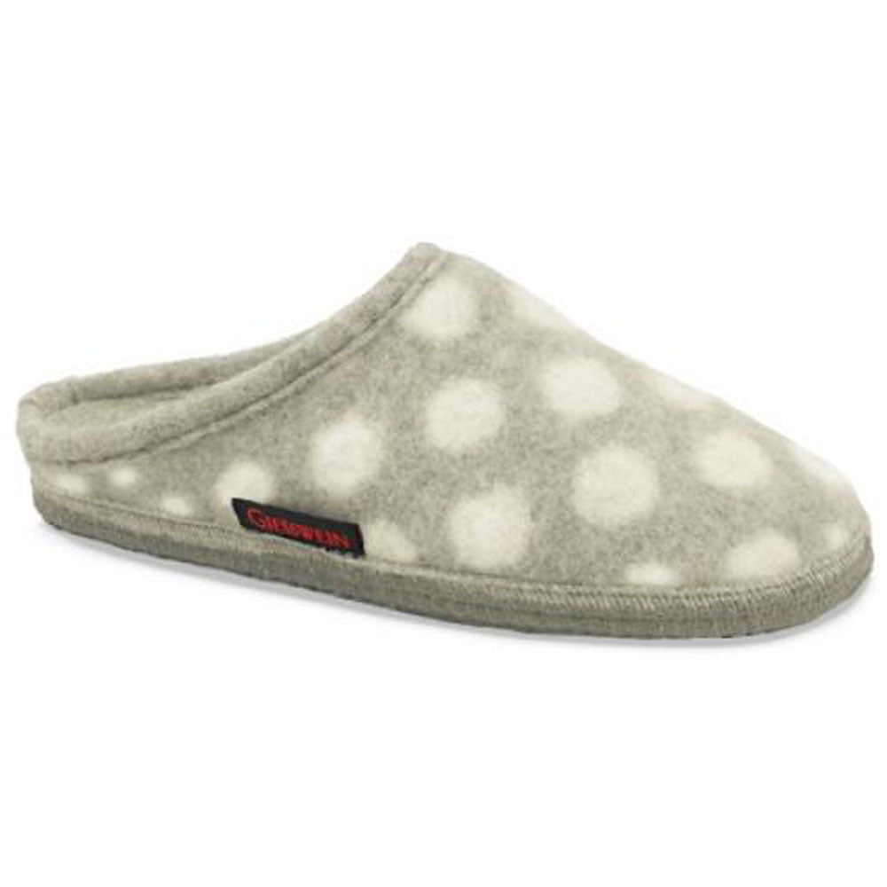 Giesswein Dottie Slipper in Pebble at Mar-Lou Shoes