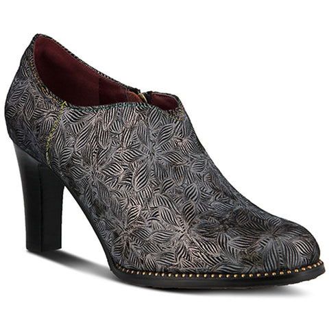Spring Step Voltage Bootie in Pewter Leather at Mar-Lou Shoes