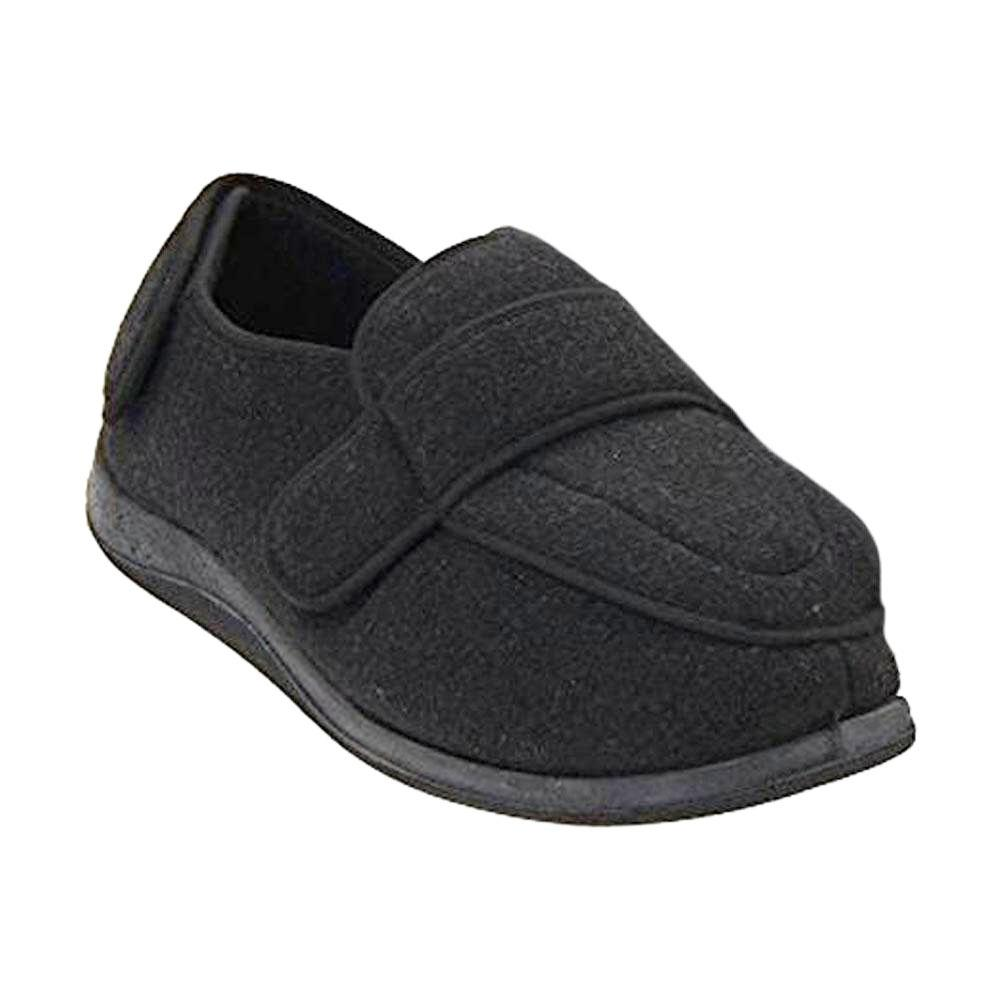 Physician Extra Wide Slipper for Women in Black