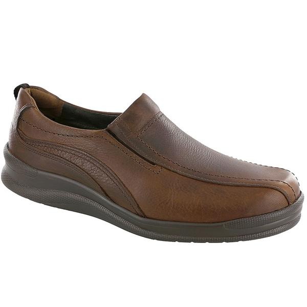 SAS Cruise On Loafer in Brown Leather at Mar-Lou Shoes