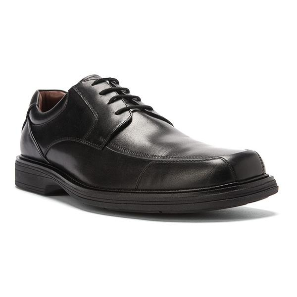 Pattison Lace-Up Black Waterproof Full Grain Leather