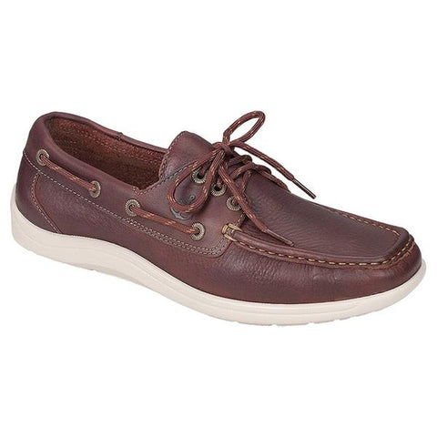 SAS Decksider in New Briar Leather at Mar-Lou Shoes