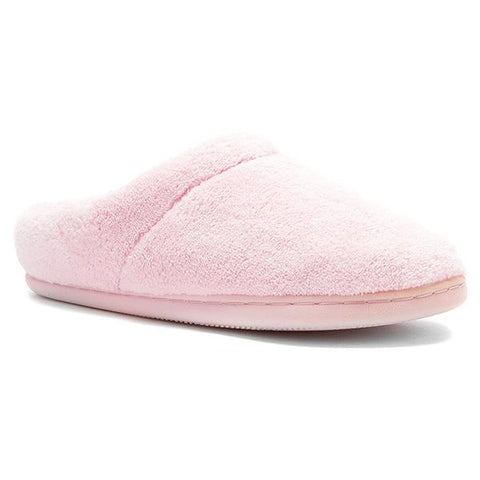 Windsock Slipper in Pink Terrycloth