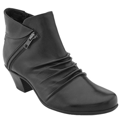 Pegasus Ankle Boot in Black Leather