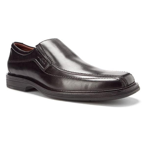 Penn Slip On Black WP Full Grain Leather