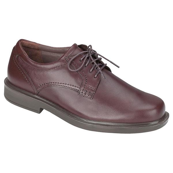 SAS Ambassador Lace-Up Oxford in Brown Leather at Mar-Lou Shoes