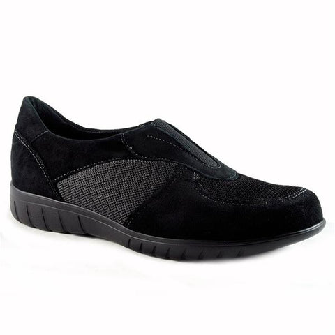 Olympia Casual Shoe in Black