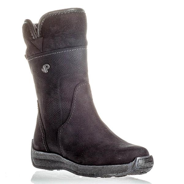 Emma Waterproof Boot in Black Nubuck