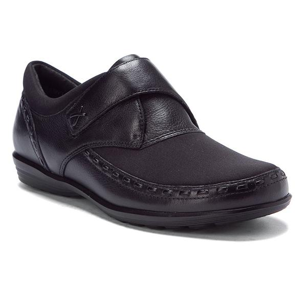 Aetrex Emma Monk Strap in Blackberry at Mar-Lou Shoes