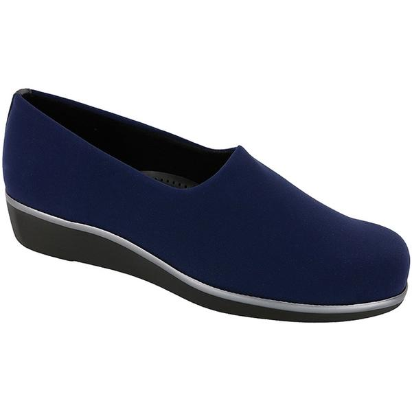 SAS Bliss in Navy at Mar-Lou Shoes