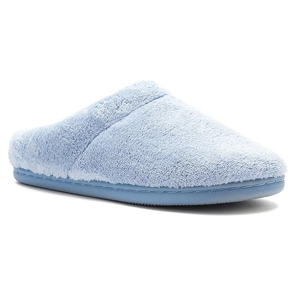 Windsock Slipper in Light Blue Terrycloth