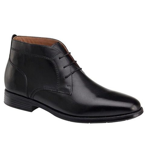 Branning Chukka Boot in Waterproof Black Leather