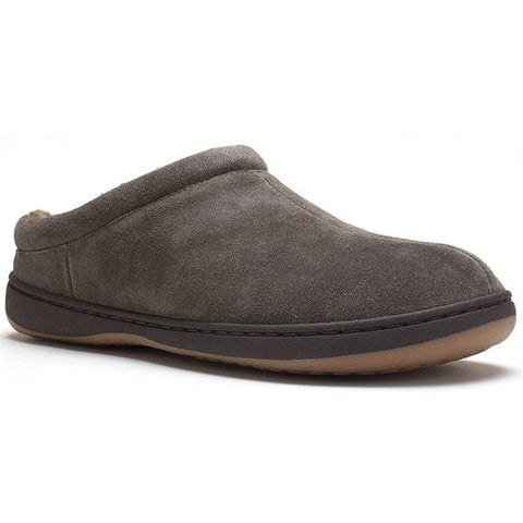 Arlow Slipper in Charcoal Suede