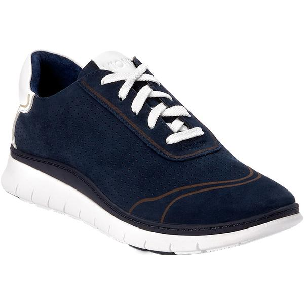 Riley in Navy Nubuck