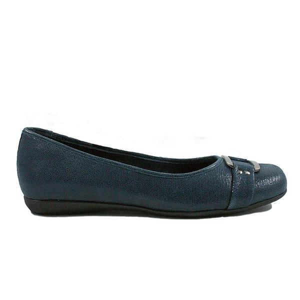Sizzle in Dark Blue Suede
