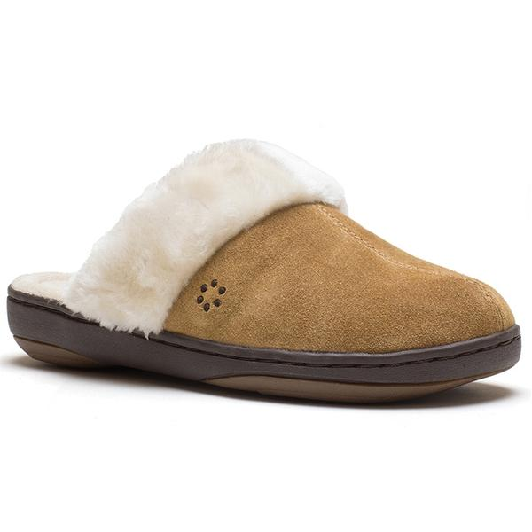 Kensley Slipper in Hashbrown Suede