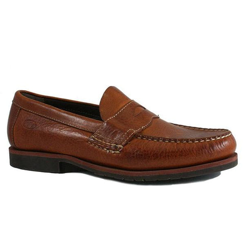 Kiawah Saddle Loafer in Tan
