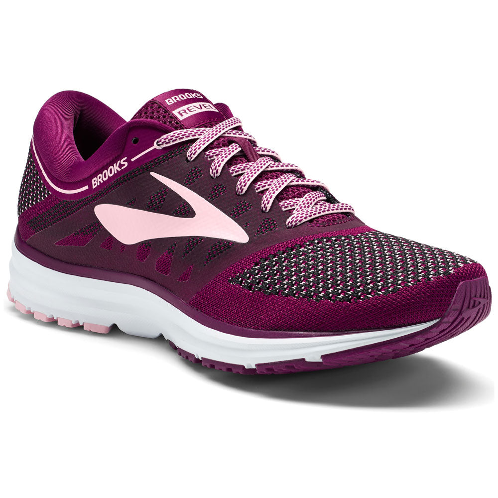 Women's Revel in Plum/Pink/Black