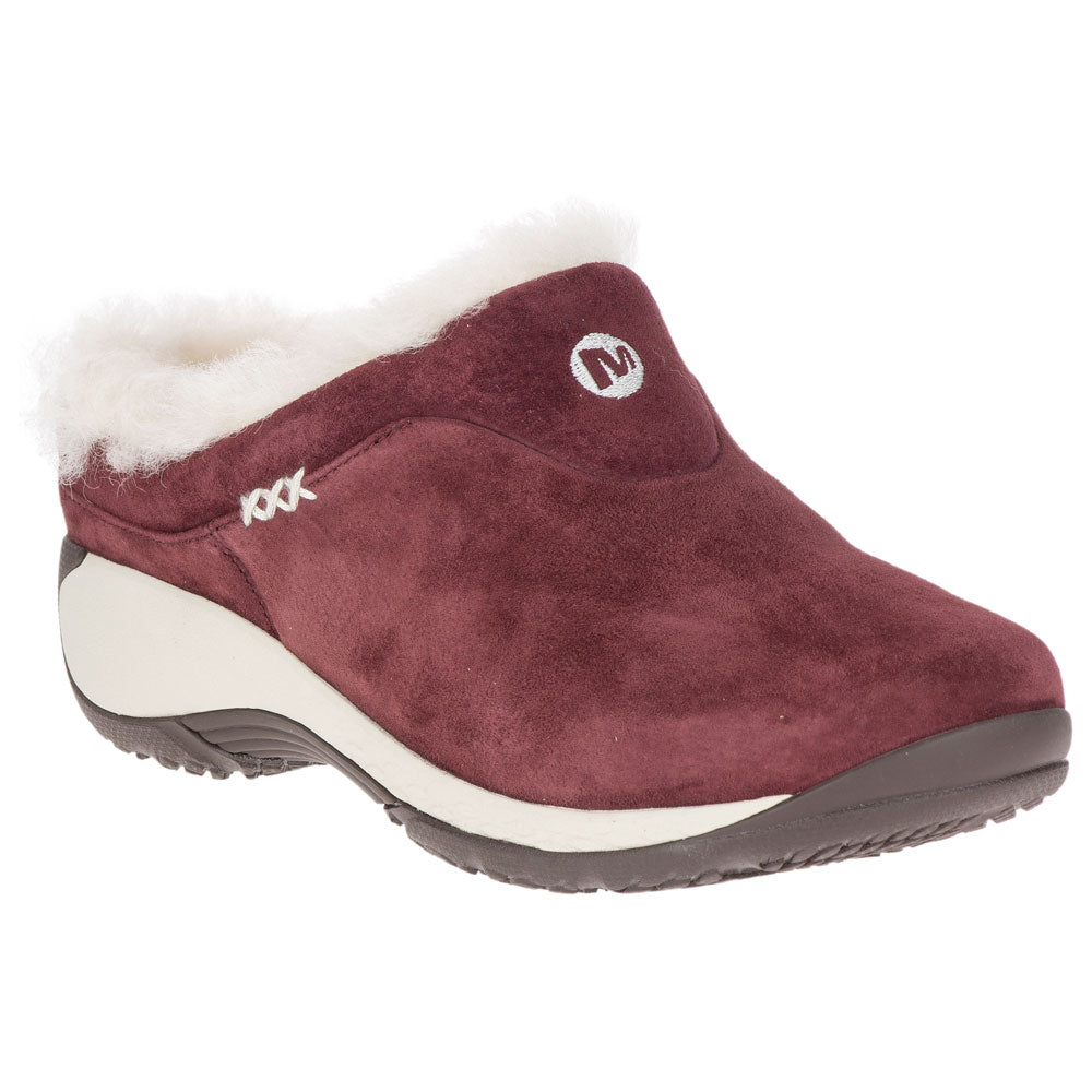 Merrell Women's Encore Q2 Ice in Raisin Suede at Mar-Lou Shoes
