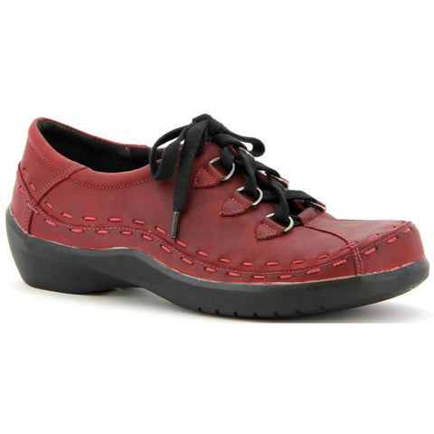 Ziera Allsorts in Rouge Leather at Mar-Lou Shoes