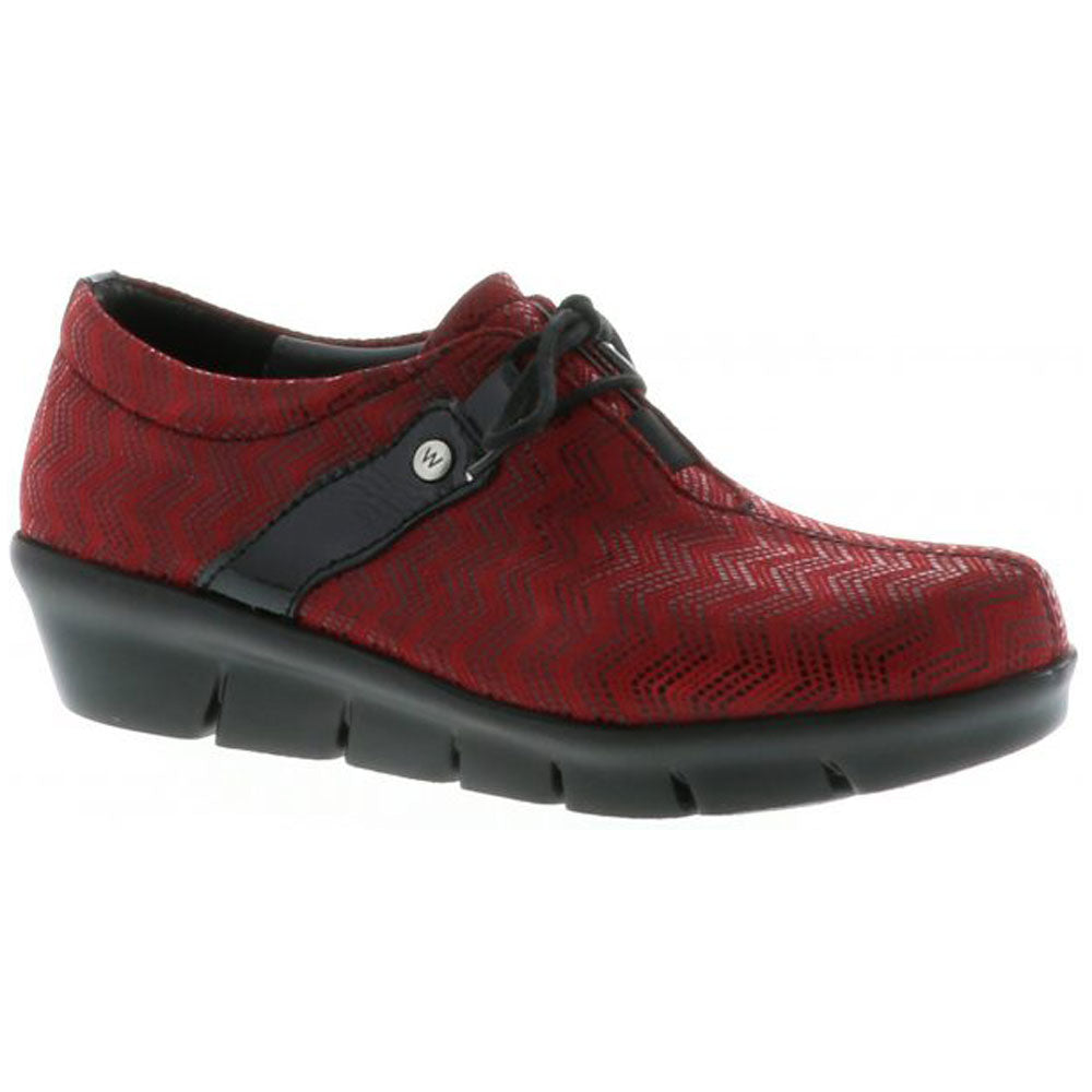 Muse in Dark Red Patent/Black Micro Combi