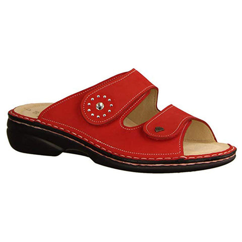 Beverly-S Sandal in Red Nubuck