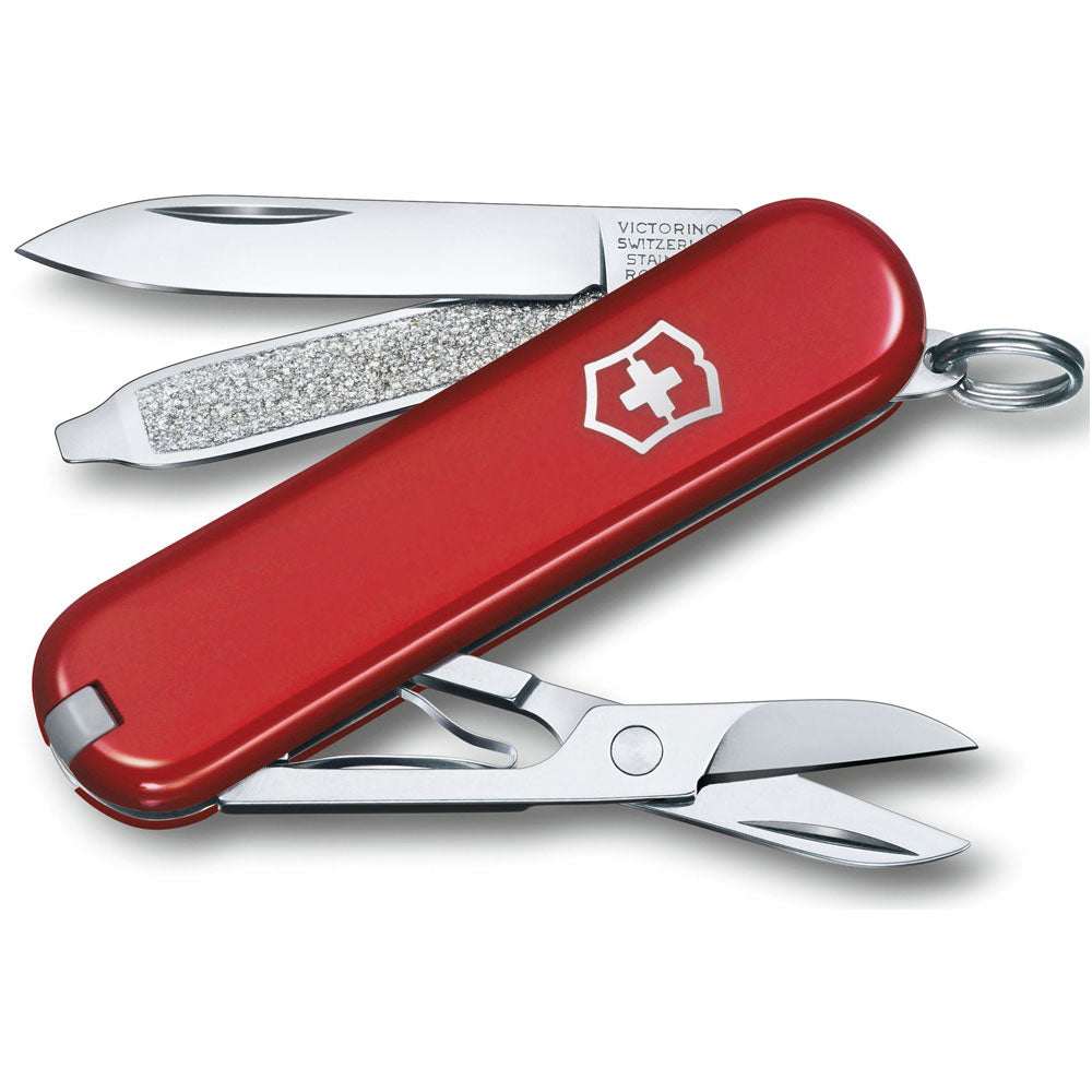 Classic Small Swiss Army Pocket Knife in Classic Red
