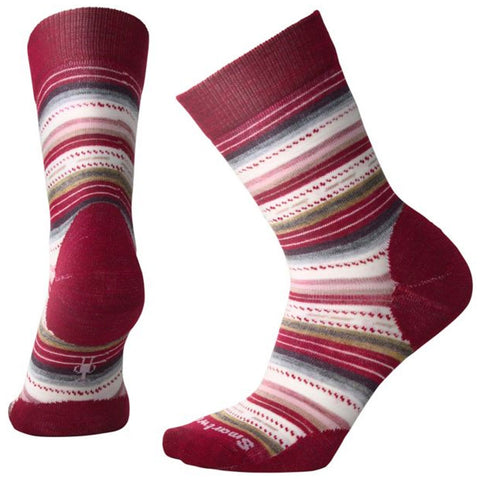 Margarita Socks in Tibetan Red Heather